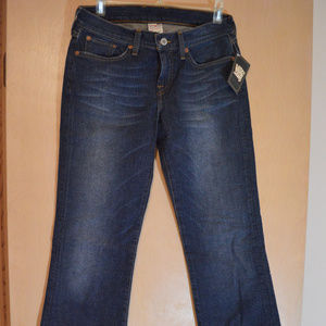 Lucky Brand Dungarees Jeans Low Rise Flare 4/27